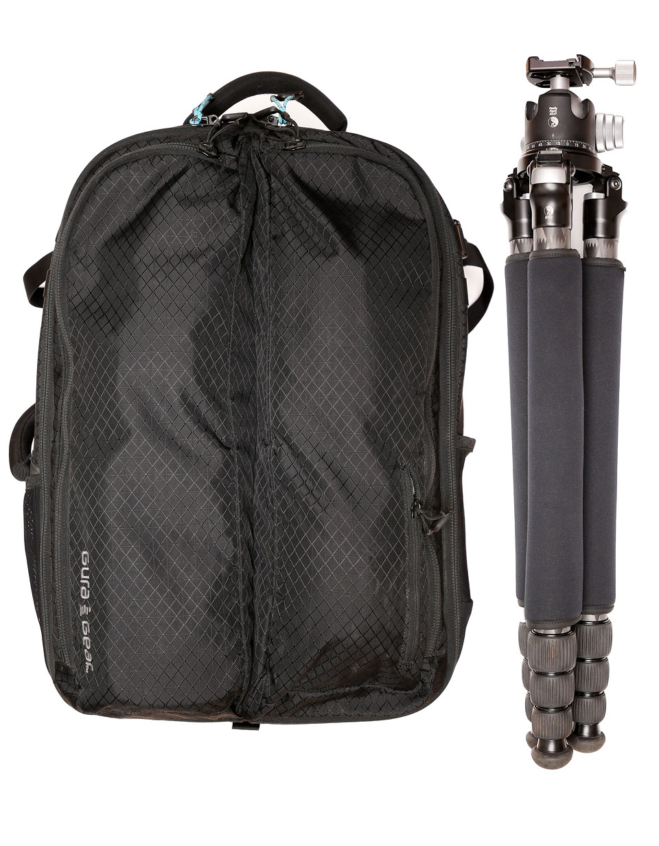 Camera Bag and Tripod