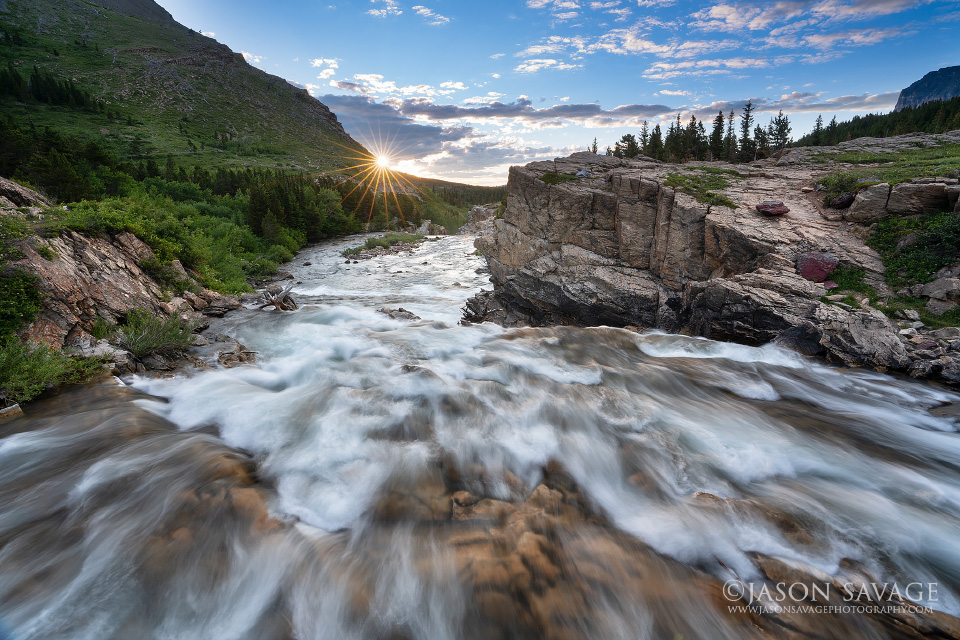 Swiftcurrent Falls Glacier