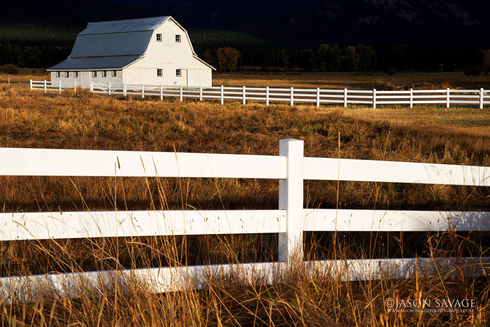 Montana Barn Photography
