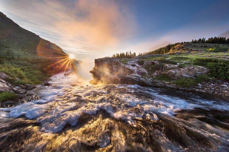 Montanan Waterfall